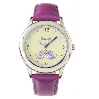 Le kawaii mignon macule la bande dessinée dans le montres bracelet