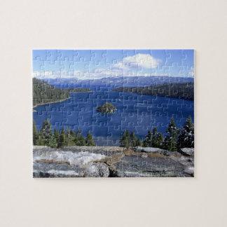 Le lac Tahoe - puzzle