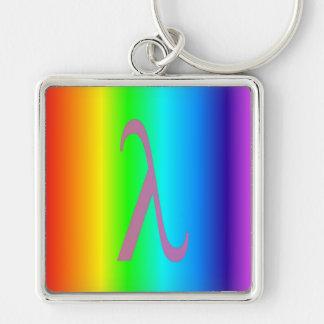Le lambda a conçu le porte - clé porte-clés