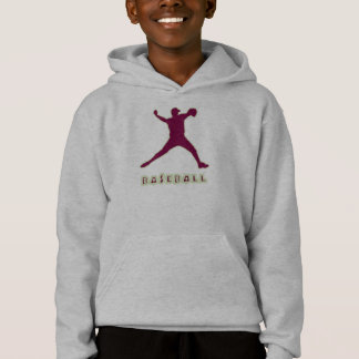 Le lanceur de base-ball badine le sweat - shirt à