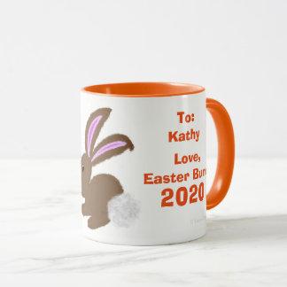 Le lapin de Pâques Eggs la tasse de souvenir