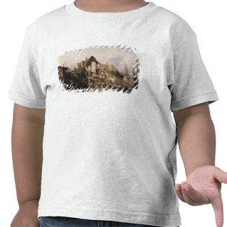 Le Lavage-House de Petits Murs T-shirts