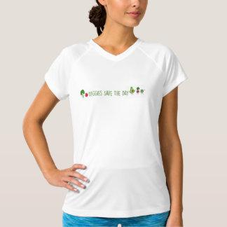 Le légume sauve la chemise NOTA: de technologie de T-shirt