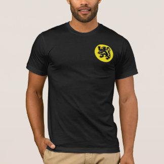 Le lion flamand noir de Flandre t-shirt petit i