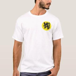 Le lion flamand t-shirt de Flandre petit insigne