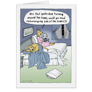 """""""Le lit de mariage """" Carte De Correspondance"""