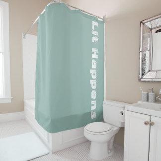 """Le """"Lit se produit"""" rideau en douche"""