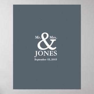 le livre de signature d'invité de mariage