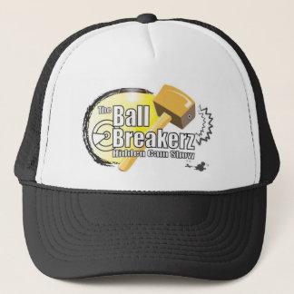 le logo de boulots très difficiles éditent casquette