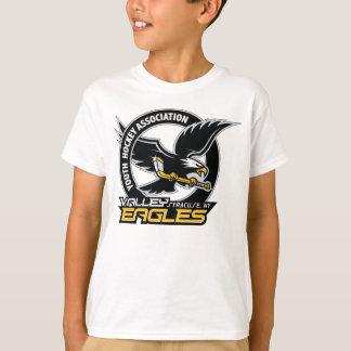 Le logo de vallée badine le T-shirt