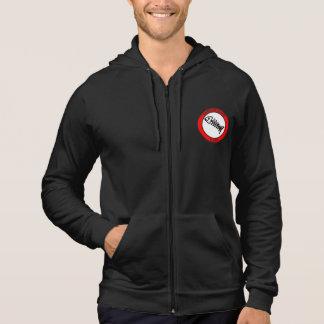 Le logo original avec le slogan original veste à capuche