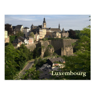 Le Luxembourg Carte Postale