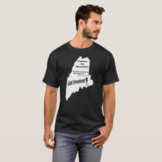 Le Maine Bernie continuent le T-shirt de
