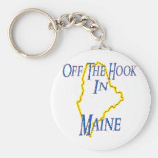 Le Maine - outre du crochet Porte-clé Rond