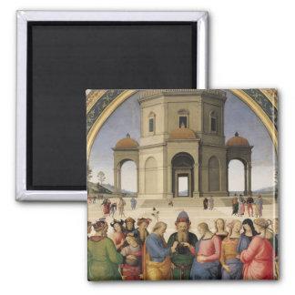Le mariage de la Vierge, 1500-04 Magnet Carré