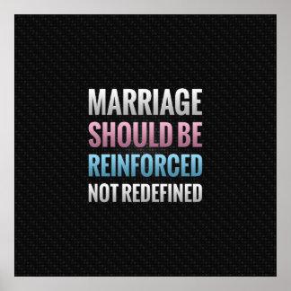 Le mariage devrait être renforcé