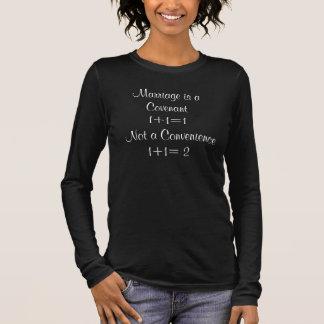 Le mariage est un engagement ! t-shirt à manches longues