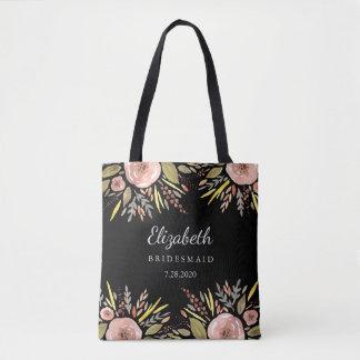 Le mariage floral rustique rougissent des sac