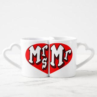 le mariage, la Mme et le M., les couples assortis Mug