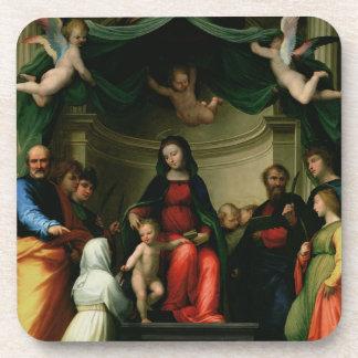 Le mariage mystique de St Catherine de Sienne avec Sous-bock