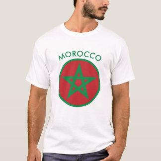 Le Maroc - le T-shirt des hommes marocains de