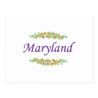 LE MARYLAND CARTE POSTALE