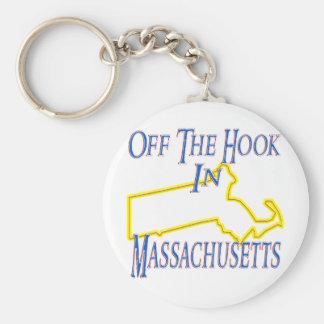 Le Massachusetts - outre du crochet Porte-clé Rond