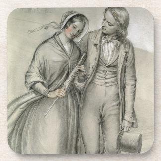 Le matin de mariage - le départ, c.1846 sous-bock