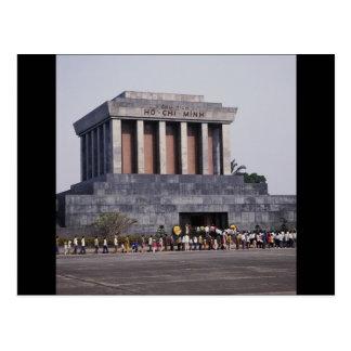 Le mausolée de Ho Chi Minh dans le carré de Dinh Carte Postale