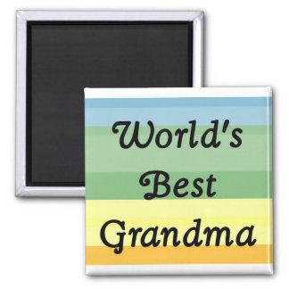 le meilleur aimant de la grand-maman du monde