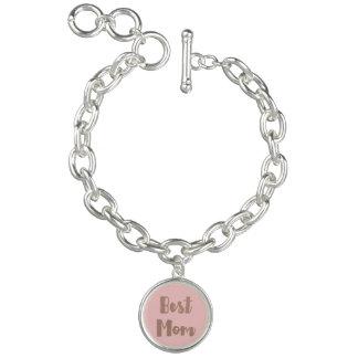 Le meilleur aluminium rose de Faux d'or du charme Bracelet