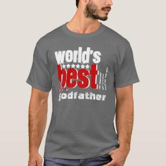 Le meilleur BLANC ROUGE GRIS du parrain X186B du T-shirt