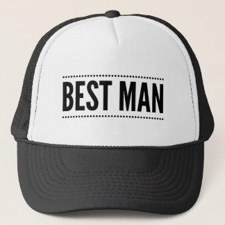 Le meilleur casquette de camionneur d'homme