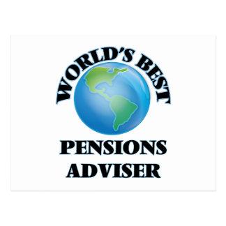 Le meilleur conseiller des pensions du monde carte postale