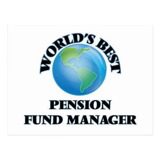 Le meilleur directeur de fonds de pension du monde cartes postales