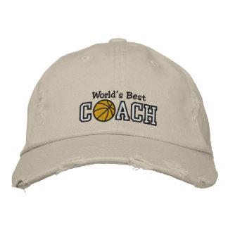 Le meilleur entraîneur de football du monde casquettes de baseball brodées
