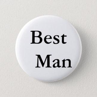 Le meilleur homme badge rond 5 cm