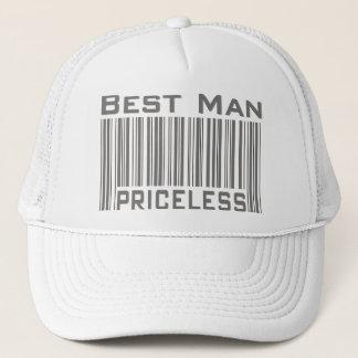 Le meilleur homme inestimable casquette