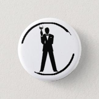 Le meilleur homme ou talent de Groomsman Badge Rond 2,50 Cm