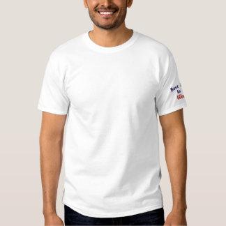 Le meilleur papa dans, monde ! - T-shirt brodé