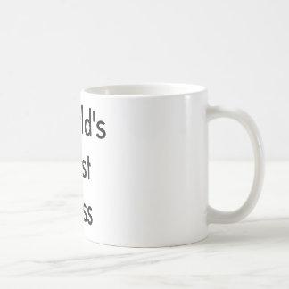 Le meilleur patron du monde mug blanc