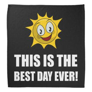 Le meilleur soleil de jour jamais bandana