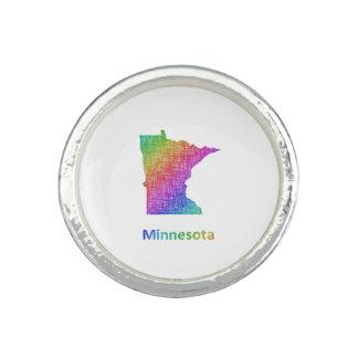 Le Minnesota Bague Avec Photo