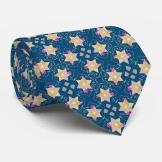 Le miracle de Hanoukka a modelé la cravate