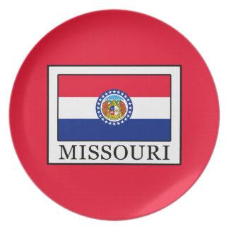 Le Missouri Assiettes En Mélamine