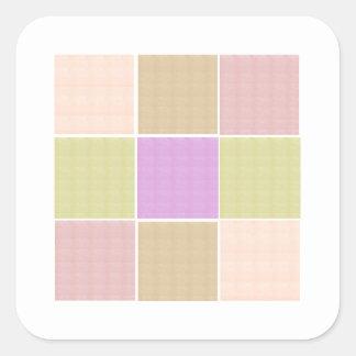 Le modèle carré de BABYsoft KOOLshades ajoutent Sticker Carré