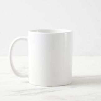 Le MODÈLE do-it-yourself vide ajoutent des Mug Blanc