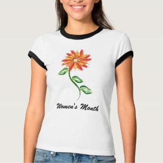 Le mois des femmes - T-shirt de dames avec