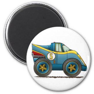 Le monde bleu fabrique le magnet de voiture de cha magnet rond 8 cm