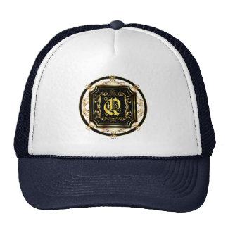 Le monogramme Q obtiennent d'autres produits Casquettes De Camionneur